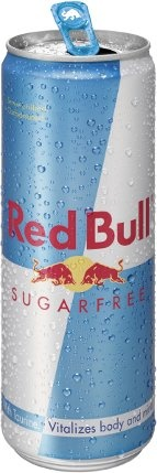 Sugar Free Red Bull - my recovery drink after gluten contaminations. Probably have drank like 10 of them this week!