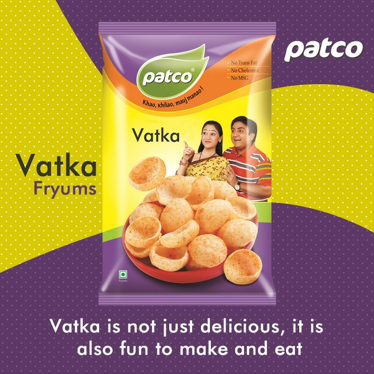 Hurryyyy Vatka Fryums is not just delicious, it is also fun t make and eat If you like it just share with your friends