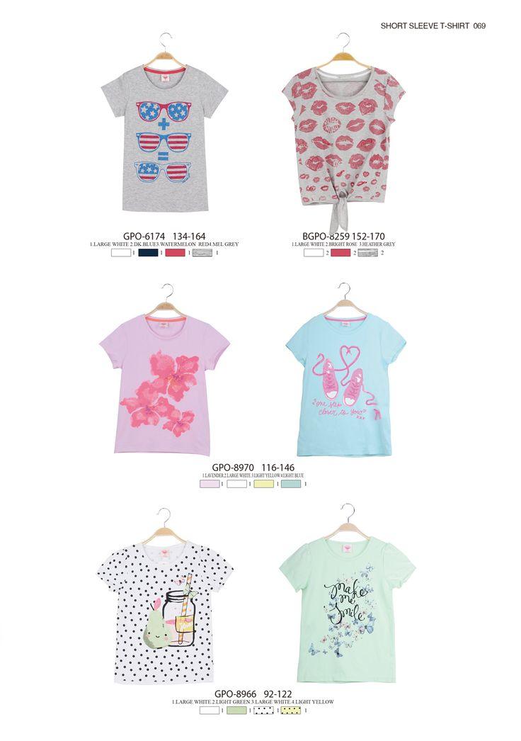 American style and cute printed T-shirts  #glostory #fashion #forgirls #ss15 #cute #clothing #fashion #dress #tshirt #printedtshirt