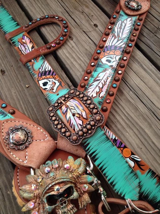 Custom Tack Set by The Cowboy Junkie