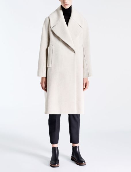 STYLECASTER | Winter Coats | Albano Cashmere and Wool Pea Coat
