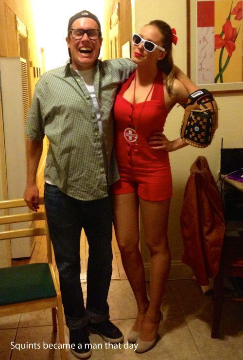 My favorite couple costume ever! The Sandlot. So I don't forget!!!!!