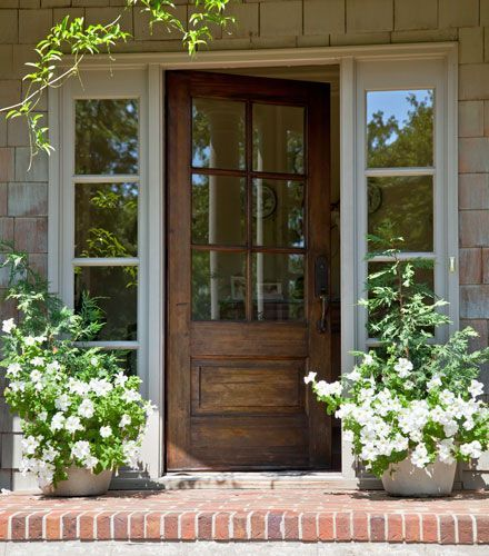 front and   Garden free door blue  amp  lime porch    Home