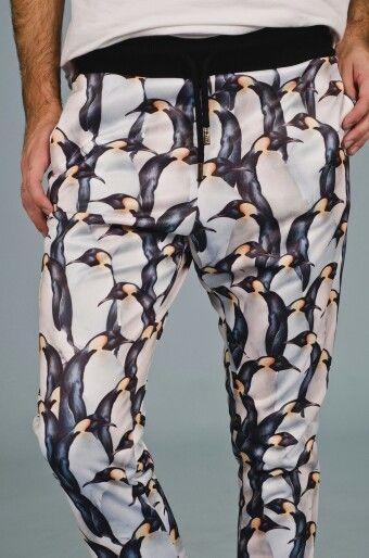 Pantalon PINGUINE Prenda unisex moda para estar en tu casa