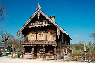 Russian Wooden House