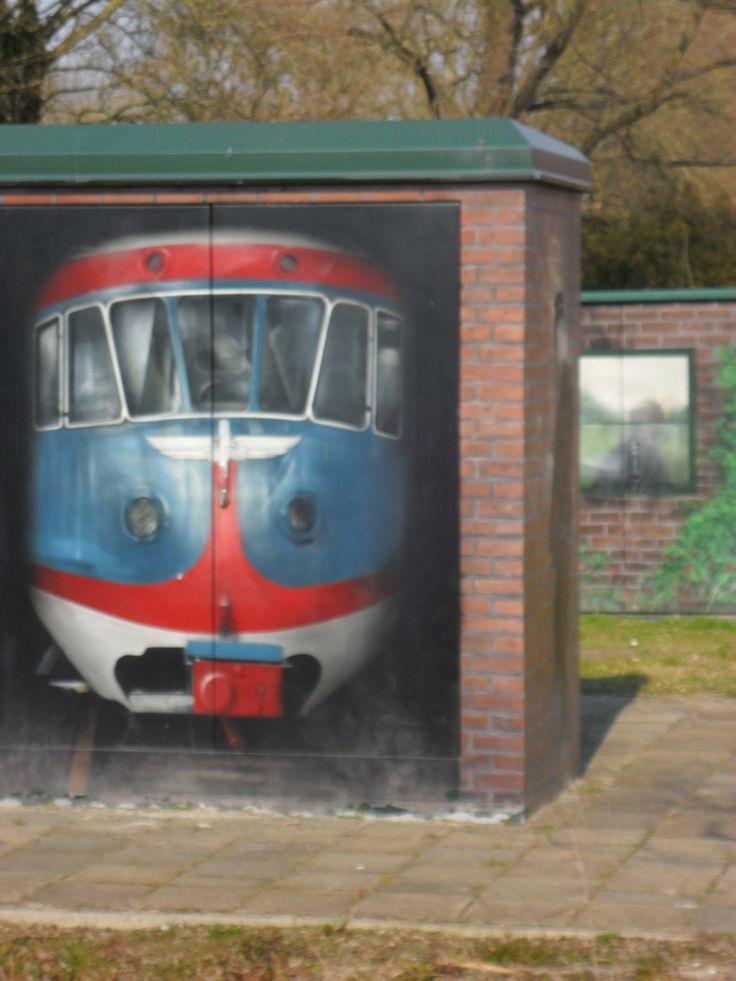 Grafity Leeuwarden Westeinde, foto Mieke 2015