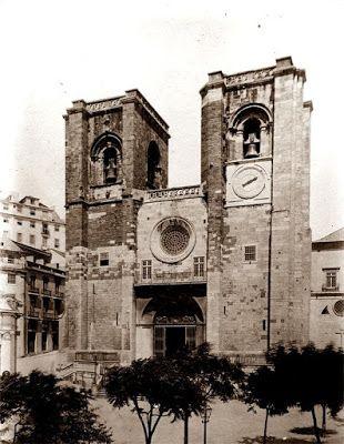 MONUMENTOS DESAPARECIDOS: Sé de Lisboa no século XIX