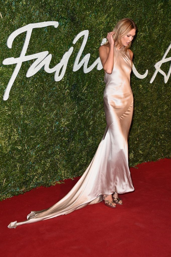 British Fashion Awards - Celebrity Fashion Trends