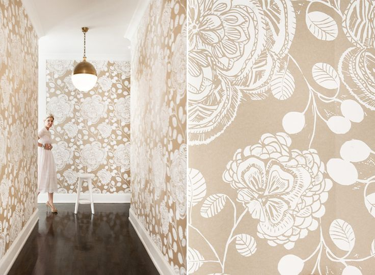 In Good Taste: Pencil and Paper Co. - Design Chic #Wallpapers #HomeDecorators #Lights