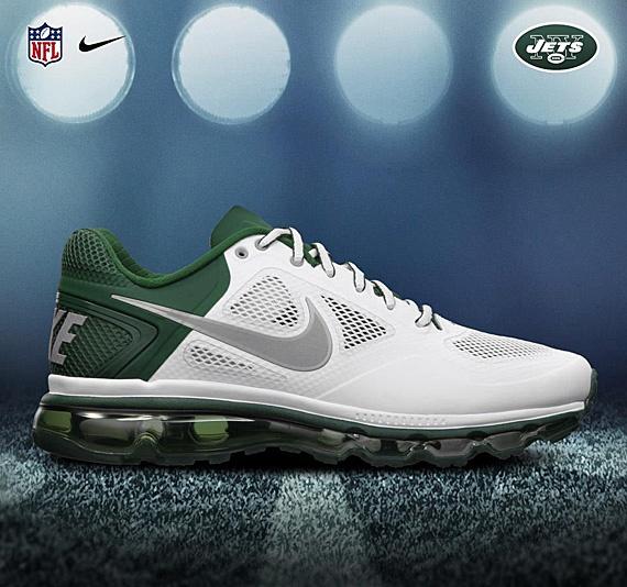 nike air max examen tl - NIKE TRAINER 1.3 MAX BREATHE \u2013 2012 NFL DRAFT PACK Jets | Sole ...