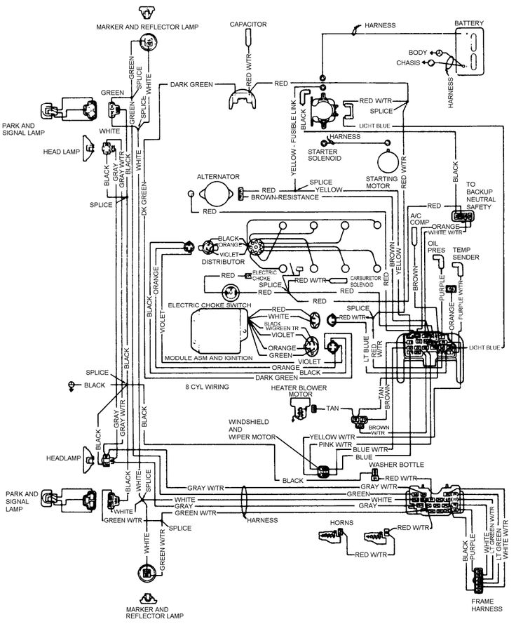84 J10 V8 Jeep Wiring Diagram