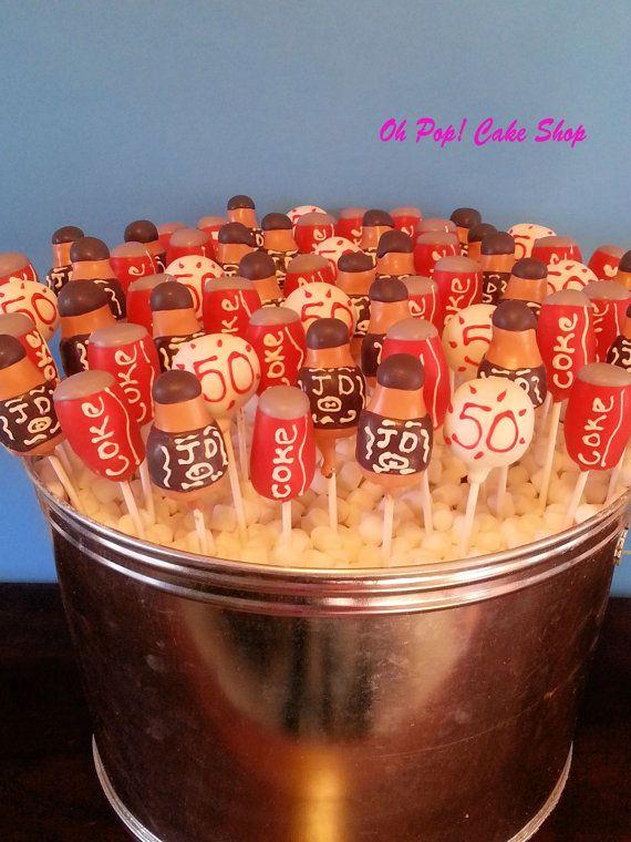 Jack And Coke Cake Pops