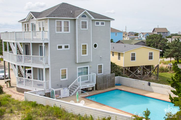 Breakers Watch {160} is a 4 bedroom, 5 full / 1 half bathroom Semi Oceanfront vacation rental in Avon, NC. See photos, amenities, rates, availability and more details to book today! | Outer Banks Vacation Rentals on Hatteras Island - Outer Beaches Realty #NEW2OBR