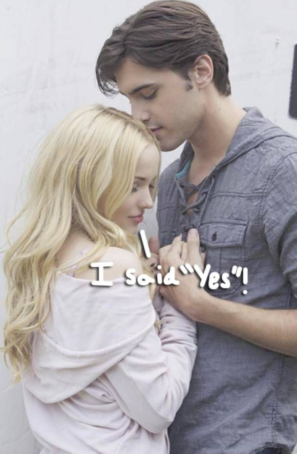 Disney Channel Stars Dove Cameron & Ryan McCartan Are Officially ...