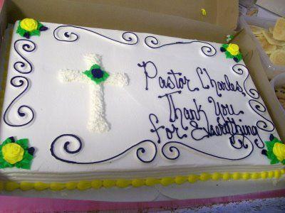 pastors appreciation cake