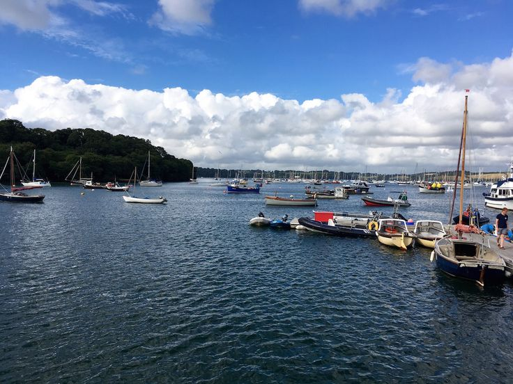 Here's how I took the plunge and put old fears behind me by learning to sail in Cornwall. We booked an RYA sailing course at Mylor Sailing School.