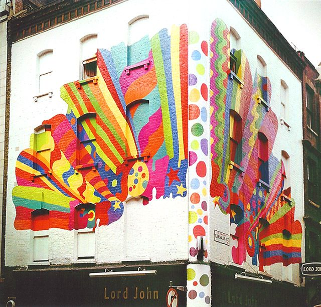 Dudley Edwards, 'Carnaby Street' - Mural 1967
