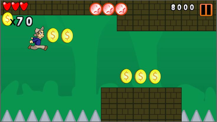 With this Starter Kit for Construct 2 Scirra, you can develop a set of Side Scrolling / Role Playing. Examples: Rayman Fiesta Run, Banana Kong, Benji Bananas, Vector, and many others. #games #construct2 #html5 #javascript #fun #mobilegames #racinggames #fungames #sportgames #cardgames