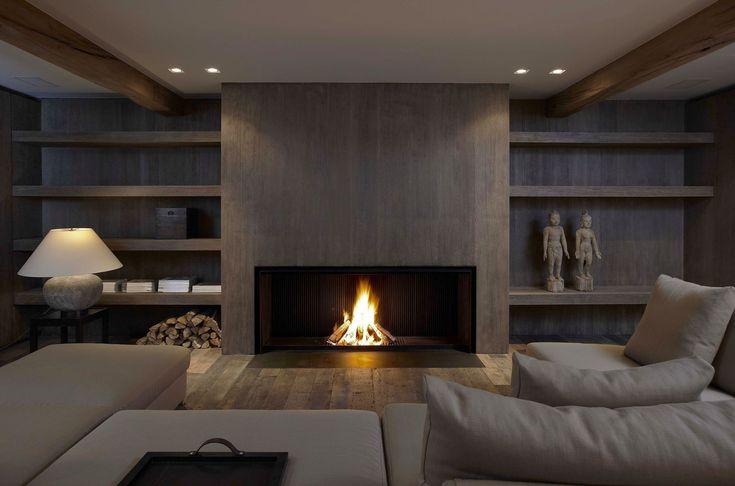 Cheminée à bois / contemporaine / design original / à foyer ouvert Universal MF 1700-75 W Metalfire