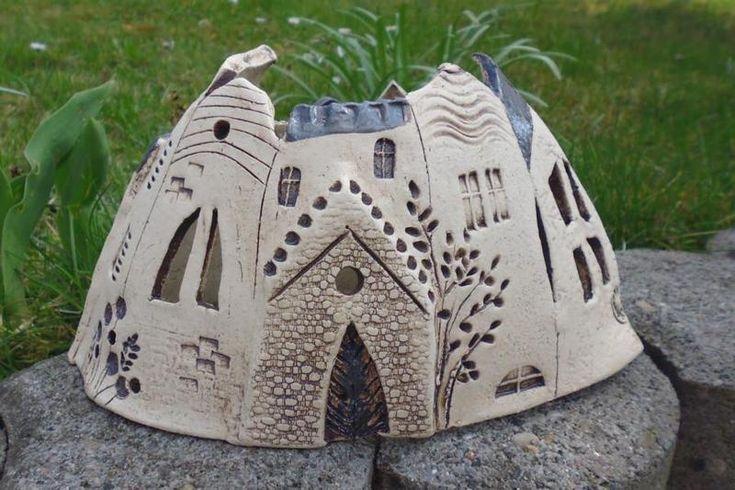 Städtchen neue Form von Keramikwerkstatt - Conni`s Keramik und ausgefallene Bilder auf DaWanda.com