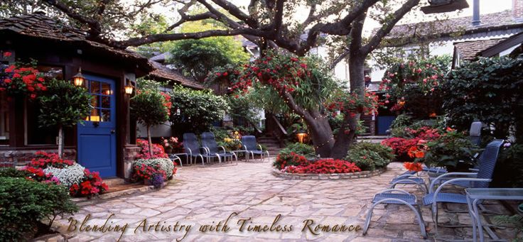 Vagabonds Bed & Breakfast in Carmel-by-the-Sea. Beautiful destination drive from San Francisco. Drive through the Pebble Beach golf resort and courses.