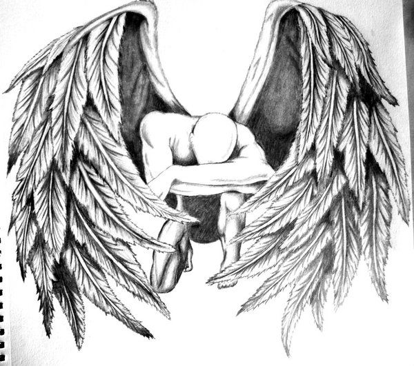 Fallen Angel by crossfade528.deviantart.com on @deviantART