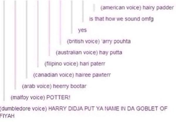 lost it at dumbledore