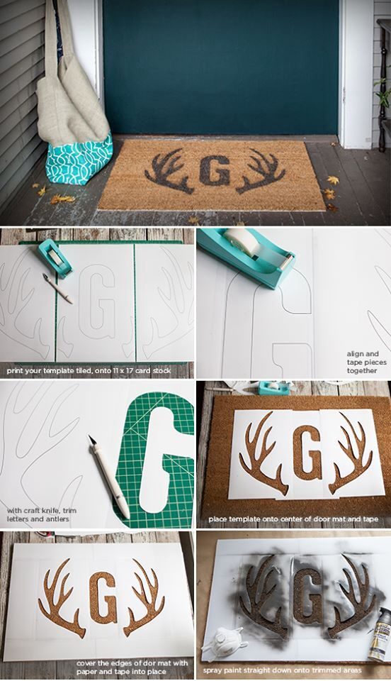 Designs your own door mat