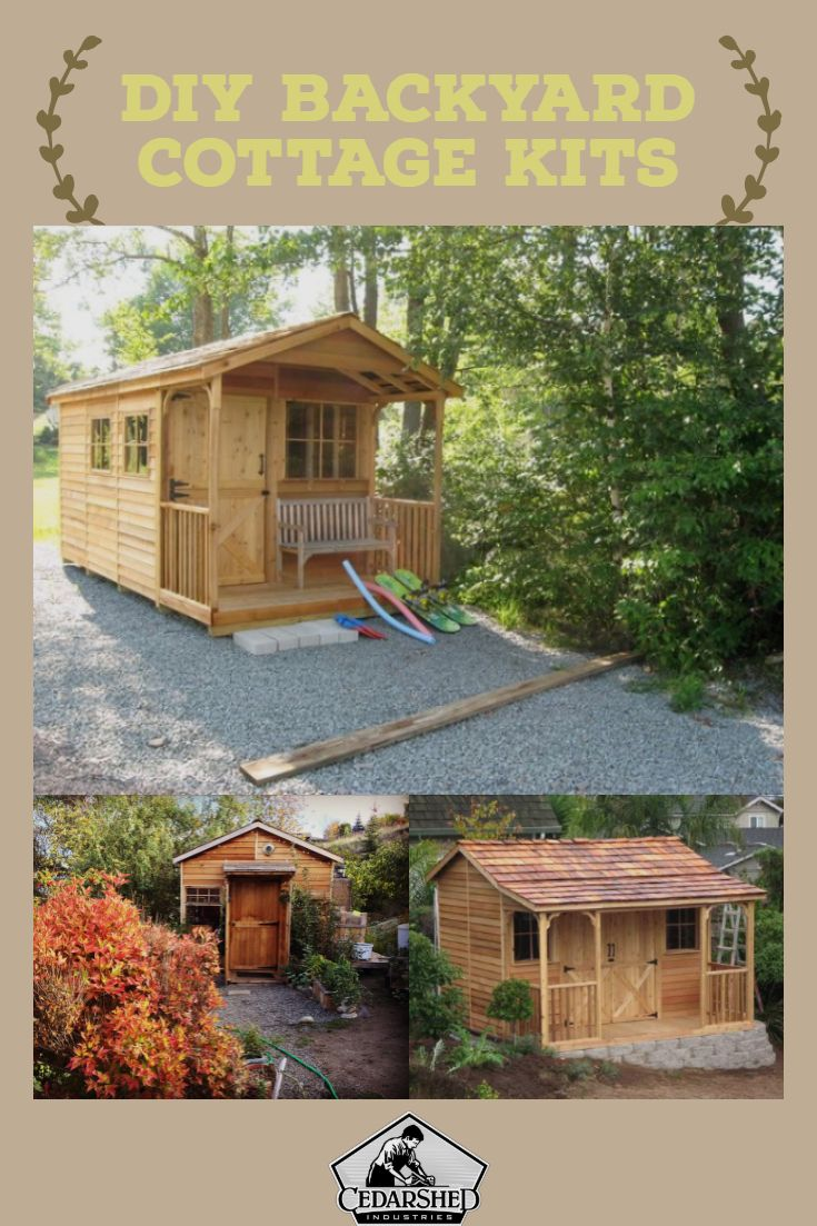 Ranchhouses Prefab Cottage Kits Shed To Tiny House Backyard Cottage Cottage Kits