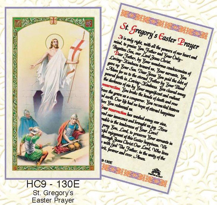 St. Gregory's Easter Prayer