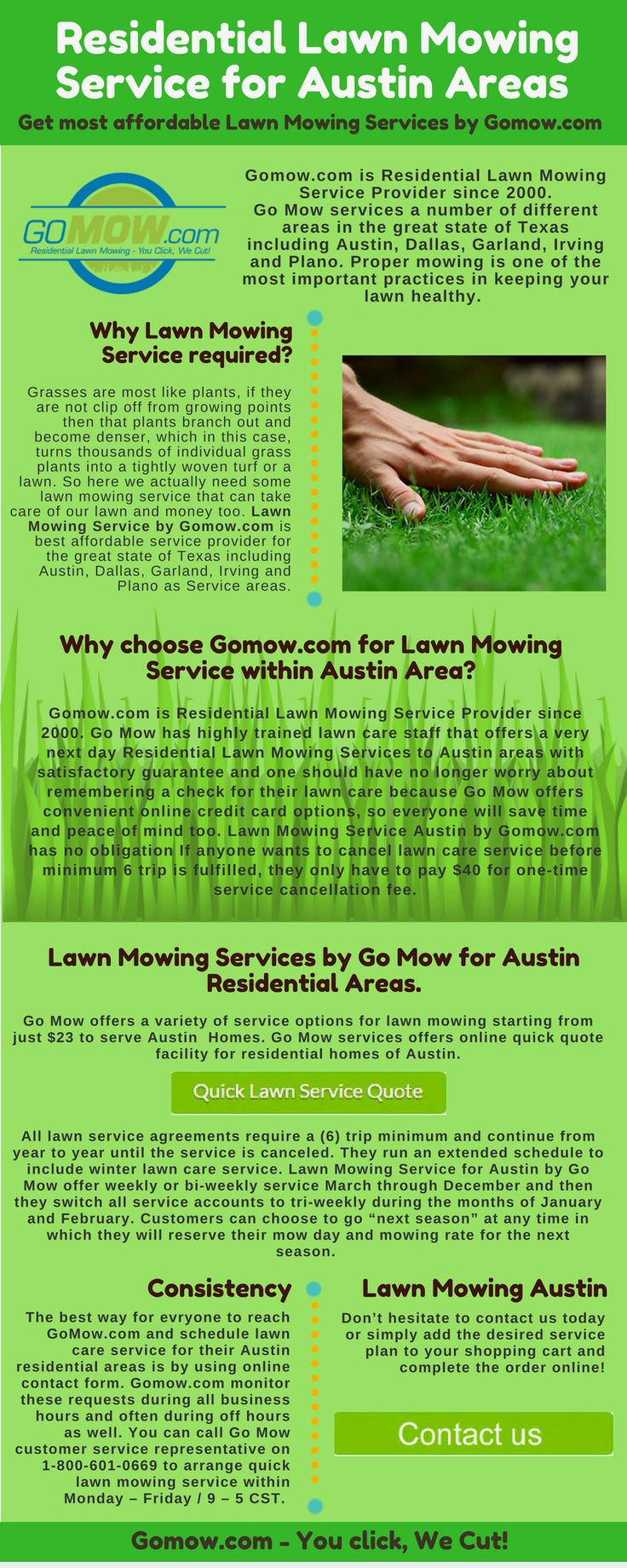 Lawn care advertising ideas - Gomow Com Is Residential Lawn Mowing Service Provider Since 2000 Go Mow Has Highly
