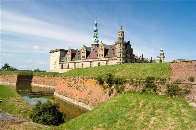 Kronborg Castle, Helsingør, Denmark - setting for Shakespeare's Hamlet