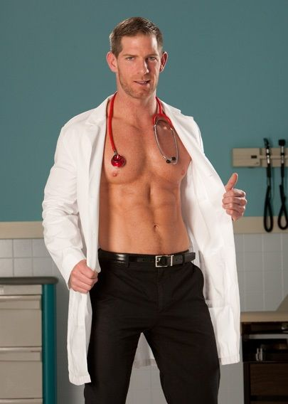 Gay doctor looking at small cocks stripping 10