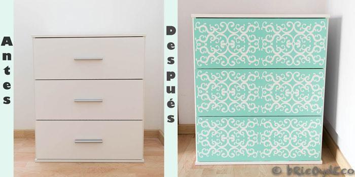 El vinilo puede ser la mejor solución para renovar por completo el aspecto de tus muebles, sean del material que sean.