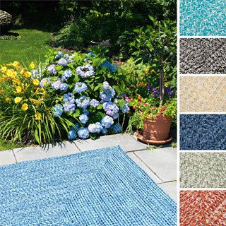 Aldo Blue Indoor Outdoor Rug 4×6 $99: Barrels, Crate And Barrel, Aldo