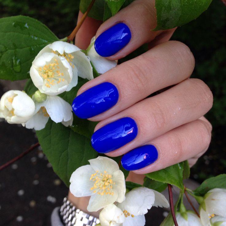 Brightest cobalt blue . Royal blue. The best!
