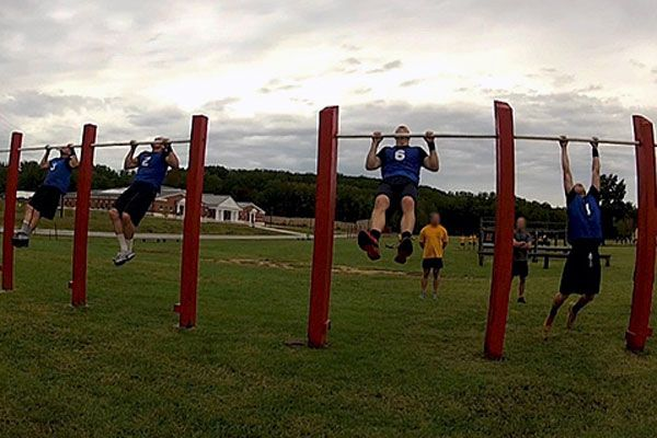 Many military members leave the military to attend federal law enforcement training programs. Though many of the fitness standards are similar, some have different tests than the standard military PFT by adding sprints, jumps, shuttle runs, and even weight lifting tests.