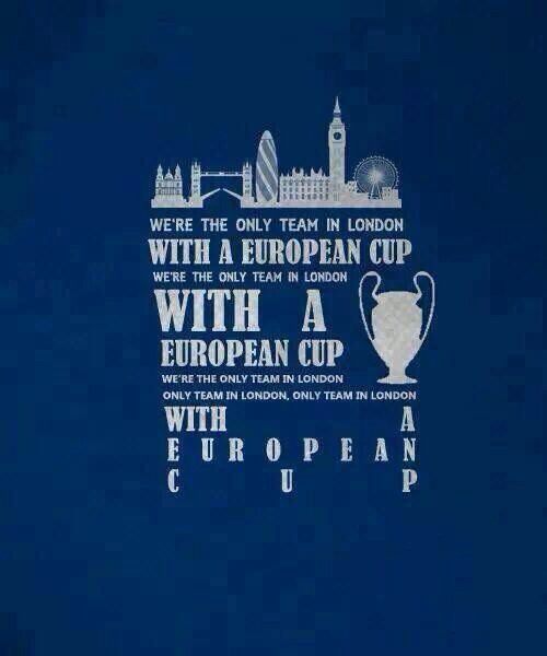 The only team in #london #chelseafc #cfc