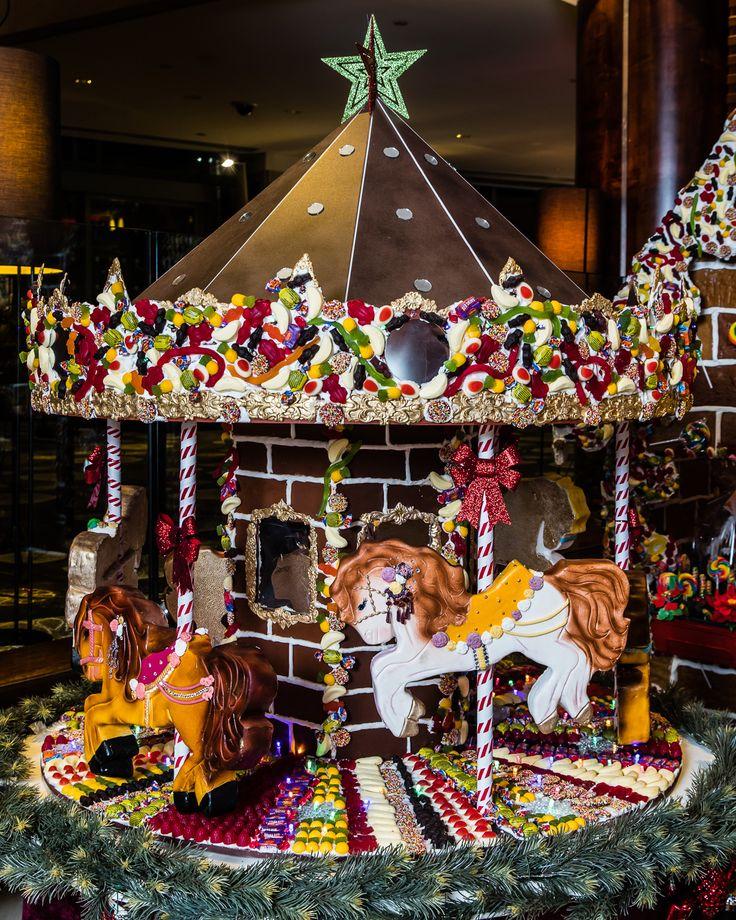 Anna Polyviou's edible festive carousel