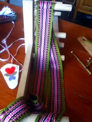 Inkle Band Pattern Generator - Working Yarn