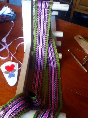 Inkle Band Pattern Generator - Working Yarn