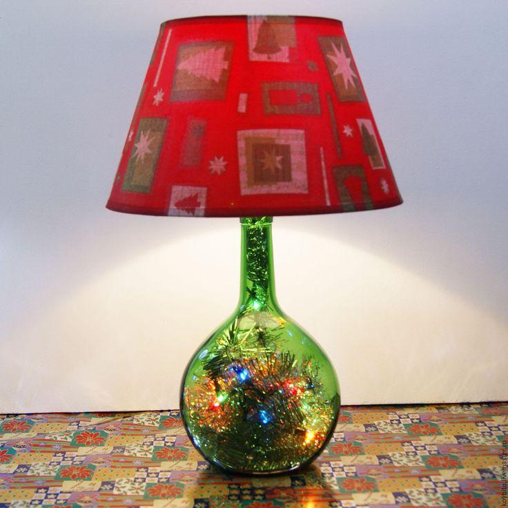 """Купить Светильник """"Новый Год"""" 01 - лампа, светильник, подарок, подарок на новый год, Новый Год"""