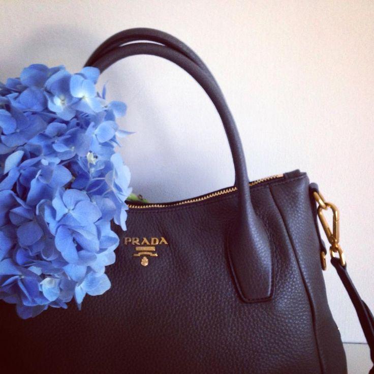 Beautiful Prada Hobo Handbag! #Prada #Handbag