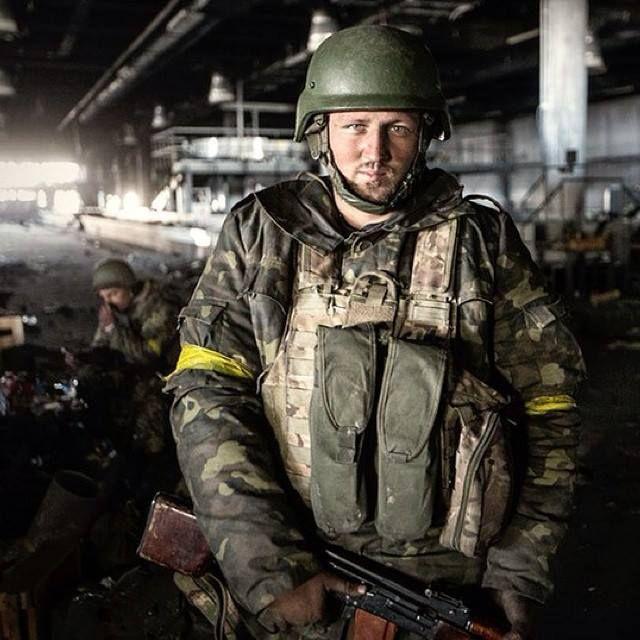 "One of ukrainian ""Cyborgs"" who protecting Donetsk airport."