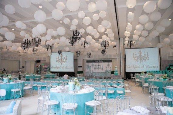 Modern-Breakfast-At-Tiffany's-Inspired-Birthday-Party-Venue #babyshowerideas4u #birthdayparty  #babyshowerdecorations  #bridalshower  #bridalshowerideas #babyshowergames #bridalshowergame  #bridalshowerfavors  #bridalshowercakes  #babyshowerfavors  #babyshowercakes