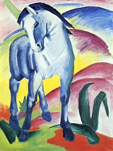 Kandinsky Der blaue Reiter