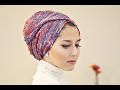 ▶ TURBAN TUTORIAL WITH LIBERTY LONDON | OOTD! - YouTube