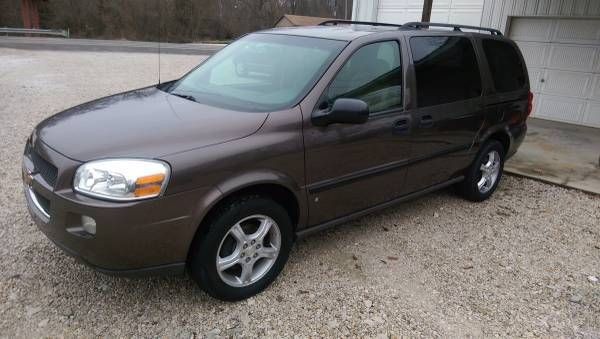 @@ 2008 CHEVROLET UPLANDER LS @@ (Oakland) $4900: 2008 Chevy Uplander LS this is a nice van runs and drives great heat air works seven…