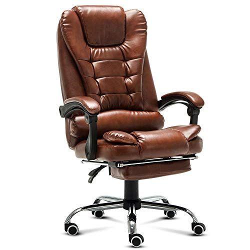 Zayzy Xrxy Office Chair Swivel Chair Reinforce Computer Chair Household Office Chair Boss Reclining Anchor Seat