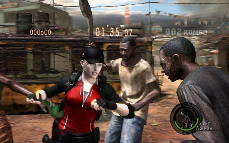 Umbrella Characters Pack / Screen 012 / Mods for Resident Evil 5(RE5) / Characters - Jill BSAA